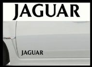 JAGUAR CAR BODY DECALS